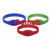 Quality Entry Rfid Wristband Access Control For Events , Entrance Rfid Chip Bracelet Long Service Life wholesale