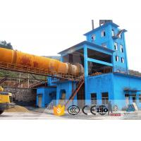 China Gypsum Powder Vertical Lime Kiln Drying Lime Kiln Plant For Magnesite Sintering on sale
