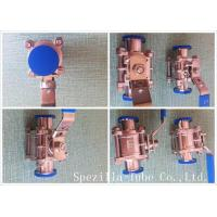 Quality Asme Bpe Tp316l Stainless Steel Sanitary Valves High Purity Clamp Type wholesale