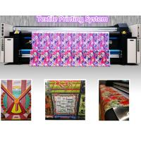 Quality Large Format Digital Fabric Printing Machine Textile Printing System Support Oversea Service wholesale