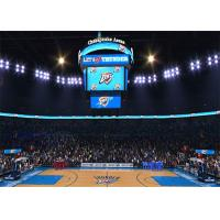 Quality Basketball Scoreboard Video Cube Screen P3 3mm , Full Color 3D LED Display wholesale