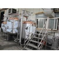 Quality equipment to make home brew of 500l red copper brew kettle for sale wholesale