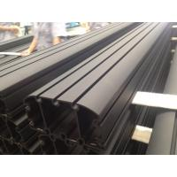 Cheap Sand Blasted Black Powder Coating Aluminum Industrial Profile for Auto Aluminum for sale
