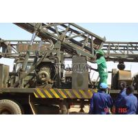 Cheap Water Well Drilling Rig Truck-mounted With All Its components 73.5KW / 1500rpm SIN450 for sale