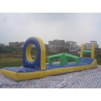 Quality PVC Tarpaulin Inflatable Water Sports Equipment / Inflatable Pool Obstacle wholesale