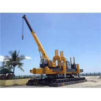 Quality Rotary Hydraulic Piling Machine Fast Piling Speed 500T Piling Capacity wholesale