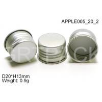 Quality Silkscreen printing H13mm Aluminium Bottle Caps with SGS for PP / Glass bottles wholesale