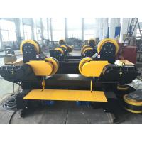 Quality Black Painting Tank Turning Rollers With 80 Ton Capacity , Coated With PU Wheels wholesale