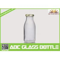 Cheap Clear milk 200ml glass bottle BPA free for sale