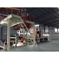 Quality Bitumen Carpet Tile Production Line Touch Screen With Hot - Air Circulation Oven wholesale
