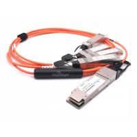 Quality 100gbase Qsfp28 To 25g Qsfp28 Active Optical Cable For Data Center And Ethernet wholesale