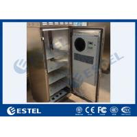 Quality 304 Stainless Outdoor Telecom Cabinet IP55 Waterproof Corrosion Resistance wholesale