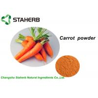 China 100% Pure Vegetable Extract Powder , Organic Carrot Juice PowderWith Vitamin B1 on sale