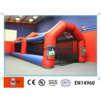 Quality 12m Fun Inflatable Batting Cages , Inflatable Sport Games For Outdoor Entertainment wholesale