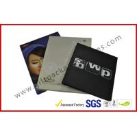 Quality Rectangle Book Shape Hard Cover Gift Packaging Boxes , Offset Printed CD Holder Gift Packaging Boxes wholesale