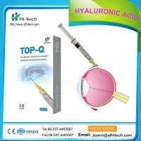 China 1ml - 3ml Sodium Hyaluronate Gel Injection / Medical Hyaluronic Acid Gel For Eye Surgery Viscoelastic on sale