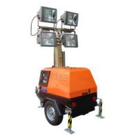 Quality 7 Meters Economical and Practical Mobile Light Tower with Diesel Engine wholesale