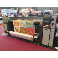 Quality Polyester Inkjet Textile Printing Machine Digital Tension Control Electro Thermal Heating wholesale