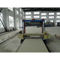 Quality Sheet Polyurethane Horizontal Foam Cutting Machine 30 Or 50 Or 80 Meter Long wholesale