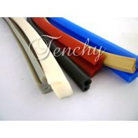 Quality Waterproof Flexible Silicone Seal Strip Dust Resistant , Shore 60A To 90A wholesale