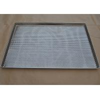 Quality Perforated Stainless Steel Wire Mesh Tray Food Grade For Food Industry wholesale