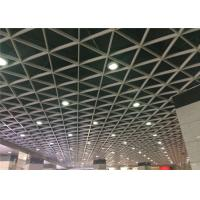 Quality 10 / 15 / 20 Mm Width Open Cell Aluminum Ceiling Panel For Hall Artistic Decoration wholesale