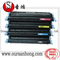 China Color Toner Cartridge Q6470A-Q6473A for Color Laser Jet CP3505 / 3600 / 3800 Series on sale