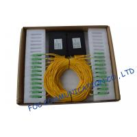 Quality ABS Module Low PDL Fiber PLC Splitter For Ftth / Catv Systems wholesale