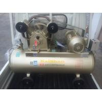 Quality Sigle Phase Reciprocating Industrial Air Compressor Belt Type 8bar 3hp / 2.2KW 2 Cylinder 220V wholesale