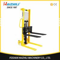 Quality 1000kg Hydraulic Hand Forklift / 1 Ton Hand Lifter Stacker With CE Certification wholesale