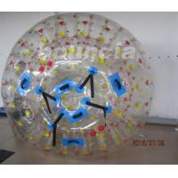 Quality 1.0mm PVC Tarpaulin Inflatable Zorb Ball With One Entrance And Plug wholesale