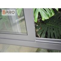 Cheap Home aluminium commercial sliding window/ double glazed windows and door for sale