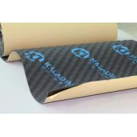 Quality Auto Noise Reducing Sound Absorption Pad 8mm Adhesive Black Closed Cell Foam wholesale