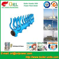 Quality SA213T22 Furnace Water Header / Steam Boiler Header TUV Certification wholesale