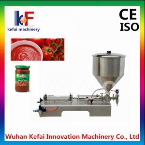 Quality Manual Liquid cream paste lotion filling Machine( CE certification) wholesale