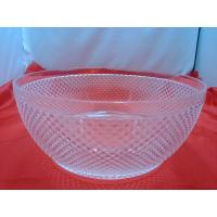 Quality Pineapple Shape Clear Acrylic Bowl For Candy , Vegetable wholesale