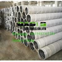 Buy cheap stainless steel continuous slot johnson screens for water well drilling product