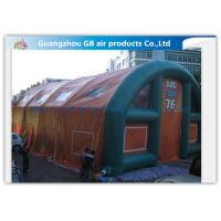 China Outdoor Inflatable Army Tent Inflatable Portable Military Shelter With Same Air Chamber on sale