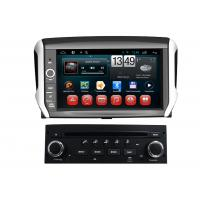 Quality Dual Core PEUGEOT Navigation System Android 208 2008 DVD GPS CD Player BT TV iPod wholesale