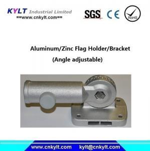 China Aluminum Rail Mount Flagpole Boat Holder/Socket on sale