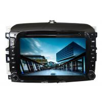 Quality Car radio in car audio gps dvd navigation system with screen sat nav for fiat 500 wholesale