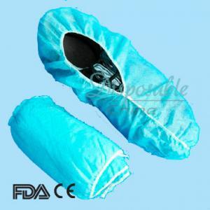 Disposable Non-Woven Shoe Cover/PP/PE/CPE