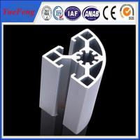 China 6000 series industrial aluminum alloy profile for shelf/cabinet on sale