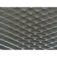 Quality Iron Board Expanded Steel Mesh Sheets , ISO9001 Expanded Steel Grating wholesale