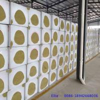 China 50mm thickness Rock wool board for building external wall and curtain wall insulation on sale