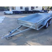 Buy cheap 10x5 Hot Dipped Galvanized Tandem Trailer 3200KG With Mechanical Disk Brakes from wholesalers