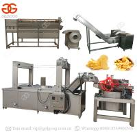 Quality Automatic Potato Chips Production Line Frozen French Fries Making Machine wholesale