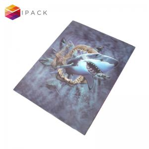 China Wholesale Custom 3D Effect Business Cards Posters Bookmarker PET Lenticular Sheet for Printing on sale