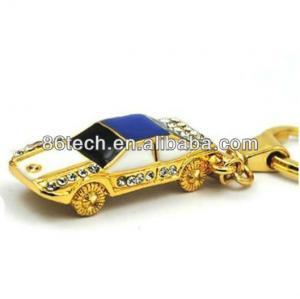 China Jewelry Diamond USB Crystal Flash Drive CE FCC on sale