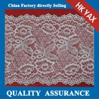 China 2014 china factory wholesale new design Popular French elastic scalloped edge lace trimming for underwear on sale